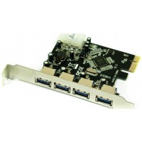 CONTROLADORA PCIE PARA A¥ADIR 4 PUERTOS USB 3.0