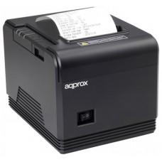 IMPRESORA TICKETS APPROX TERMICA USB-SERIE-ETH NEGRA