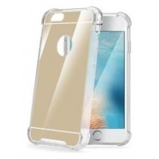 CELLY COVER ARMOR IP7+ ESPEJO DORADO (Espera 3 dias)