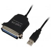ADAPTADOR USB A PARALELO LOGILINK AU0003C