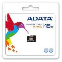TARJETA DE MEMORIA MICRO SDHC 16GB ADATA CL4 + ADAPT