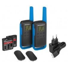 Pack Walkie Talkies Motorola T62 Azul PMR446 (Espera 4 dias)