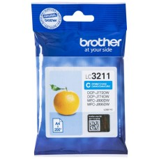 TINTA BROTHER LC-3211C CIAN 200PAG