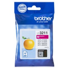 TINTA BROTHER LC-3211M MAGENTA 200PAG