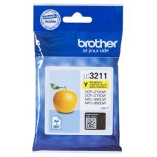 TINTA BROTHER LC-3211Y AMARILLO 200PAG