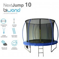 Trampolín Cama Elástica 3.05m NextJump 10 Biwond Azul (Espera 2 dias)
