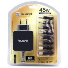Cargador Automatico Ultrabook 45W Universal (8 Conectores) Biwond