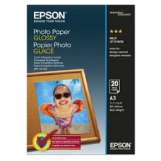 Epson Photo Paper Glossy A3 Brillo papel fotográfico