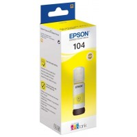 Epson Botella Tinta Ecotank 104 Amarillo 70ml