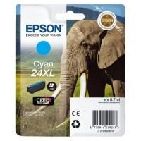 EPSON CARTUCHO CIAN T24XL 740 PAGINAS XP/750/850 (Espera 3 dias)