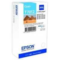 EPSON CARTUCHO CIAN XXL 3.400 PAG. WORKFORCE (Espera 3 dias)