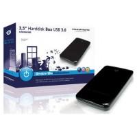 CAJA EXTERNA CONCEPTRONIC SATA HD 3 1/2 USB 3.0 COLOR
