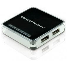 HUB CONCEPTRONIC 4 PUERTOS USB 2.0 C4USB2 C05-103