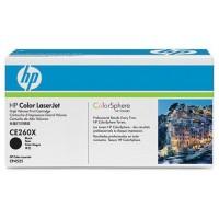 HP CE260X Cartucho 17000páginas Negro tóner y cartucho láser