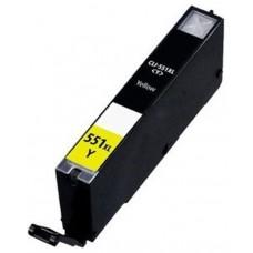 CARTUCHO COMP. CANON CLI551XL AMARILLO 6446B001 13 ML