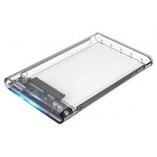 CoolBox caja HDD 2.5SCT-2533 USB3.0 transparente