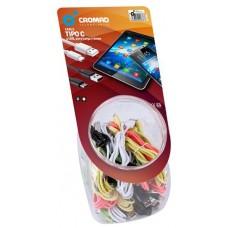Pack 35 Cables Tipo C Colores Cromad (Espera 2 dias)