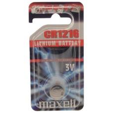 Maxell  Pila Botón Litio CR1616 3V Blister*1 EU