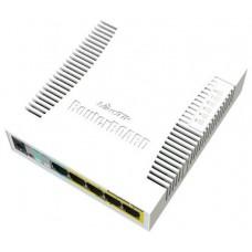 MikroTik CSS106-1G-4P-1S RB260GSP Switch 5xGB 1xSF