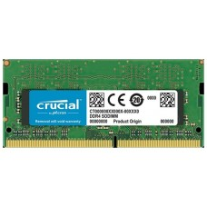MEMORIA CRUCIAL SO-DIMM DDR4 8GB 2400MHZ CL17 SR (Espera 4 dias)