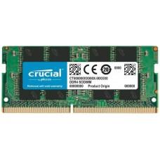 MEMORIA CRUCIAL SO-DIMM DDR4 8GB 2666MHZ CL19 SRx8 (Espera 4 dias)