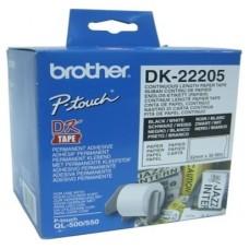 BROTHER CINTA CONTINUA BLANCA PAPEL 62MM 30,48M (Espera 3 dias)
