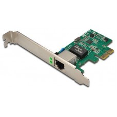 TARJETA EXPANSION DIGITUS PCI EXPRESS RJ-45 GIGABIT INCL. LOW PROFILE BRACKET