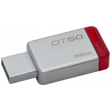 PEN DRIVE 32GB KINGSTON USB3.0 DATATRAVELER50 ROJO