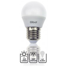 Bombilla LED G45 / 7W / 510LM / E27 / Luz Blanca / ELBAT (Espera 2 dias)