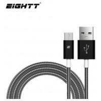 Eightt - Cable USB a MicroUSB 1.0M - Trenzado de Nylon (Espera 3 dias)
