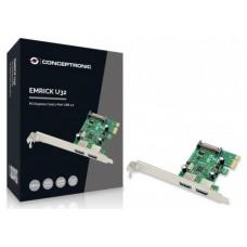 CONTROLADORA CONCEPTRONIC PCI EXPRESS 2 PUERTOS USB