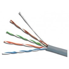 CABLE DATOS TELEVES U/UTP CAT 5E ECA CU LSFH 5,5 MM GRIS