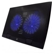 "Ewent EW1257 almohadilla fría 43,2 cm (17"") Negro (Espera 4 dias)"