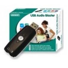 Ewent Tarjeta de Sonido Externa 5.1 USB Audio Blaster (Espera 2 dias)