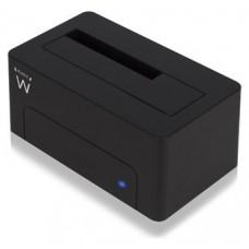 Ewent EW7012 Dock Station Dual 2.5-3.5 USB 3.0