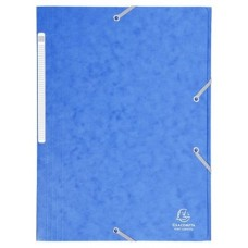 CARPETA EXACLAIR CARTON A4 AZUL