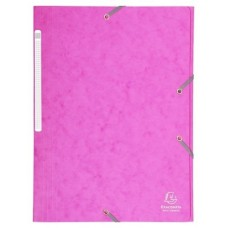 CARPETA EXACLAIR CARTON A4 FUCSIA