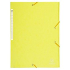 CARPETA EXACLAIR CARTON A4 LIMON