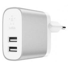 BELKIN 4.8A DUAL USB-A HOME CHARGER F8J107 R· (Espera 4 dias)