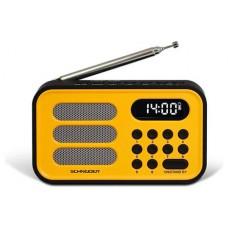 RADIO DIGITAL SCHNEIDER HANDY MINI AMARILLO (Espera 4 dias)