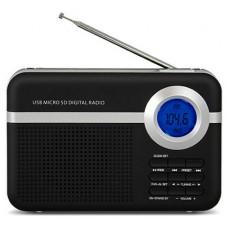 RADIO DIGITAL SCHNEIDER HANDY NEGRO (Espera 4 dias)