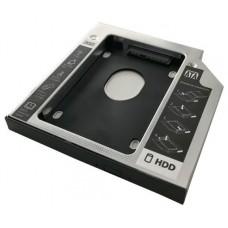 ADAPTADOR 3GO HDD/SSD PARA BAHIA DE PORTATIL 12.7mm