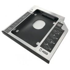 ADAPTADOR 3GO HDD/SSD PARA BAHIA DE PORTATIL 9,5mm