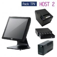 Pack TPV HOST 2 - TPV compacto TLM-356 (Cel/4GB/64GB)