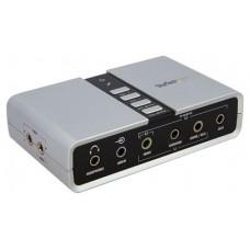 TARJETA DE SONIDO EXTERNA STARTECH 7.1 USB S-PDIF