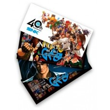 PACK DE 4 STICKERS CONSOLA NEO GEO MINI