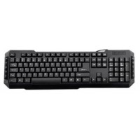 TECLADO 3GO DRILE NEGRO MULTIMEDIA PS2 (Espera 4 dias)