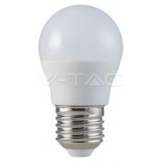 BOMBILLA LED E27 G45 V-TAC  5,5W 40W LUZ CALIDA 470LM