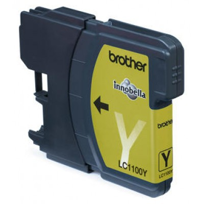 TINTA BROTHER LC1100Y AMARILLO DCP385C  MFC6490CW 5490CN 325PAG