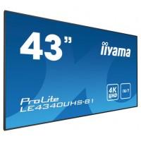"""MONITOR IIYAMA LFD 43""""AMVA3 PANEL (LE4340UHS-B1)"""